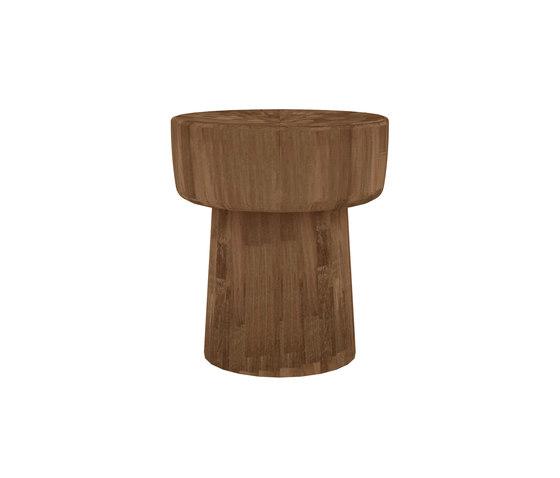 Teak Pop stool by Ethnicraft | Stools