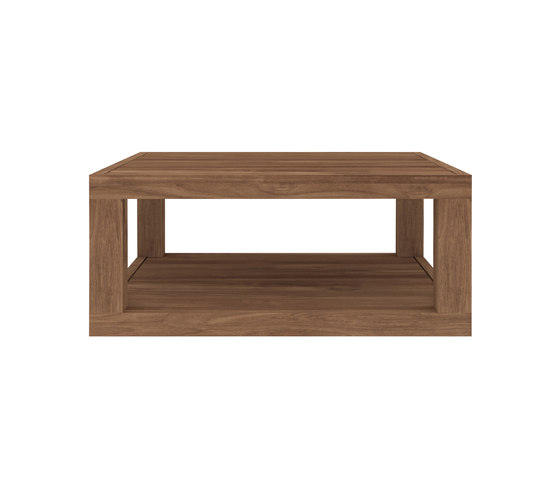 teak duplex coffee table lounge tables by ethnicraft