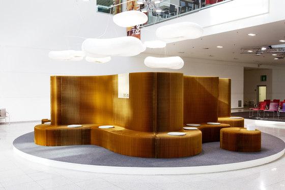 benchwall | natural brown paper de molo | Mobiliario de trabajo / lounge
