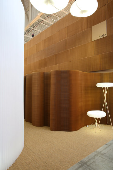 thinwall | natural brown paper by molo | Space dividers