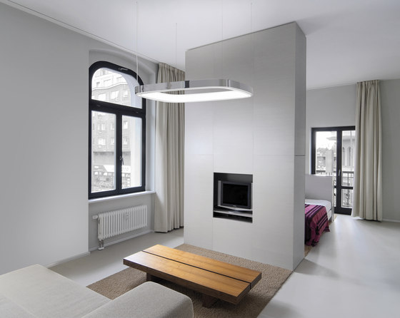 Soft Square by Sattler | Suspended lights