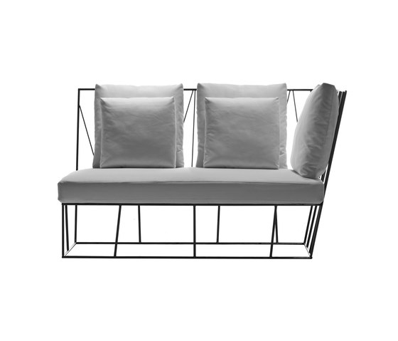 Hervé two-seater element by Driade | Garden sofas