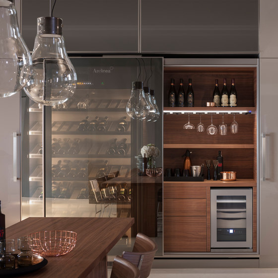 Vina Epicure by Arclinea | Drinks cabinets