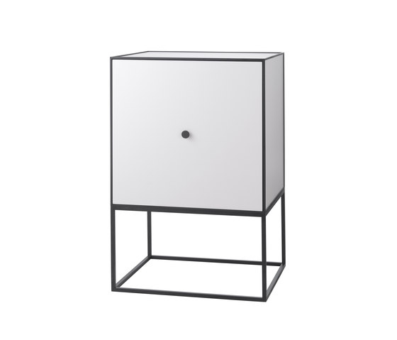 Frame Sideboard light grey di by Lassen | Credenze