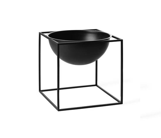 Kubus Bowl large black de by Lassen | Cuencos