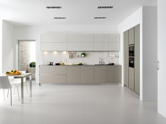 Serie 45 natural linen fitted kitchens from dica - Muebles de cocina dica ...