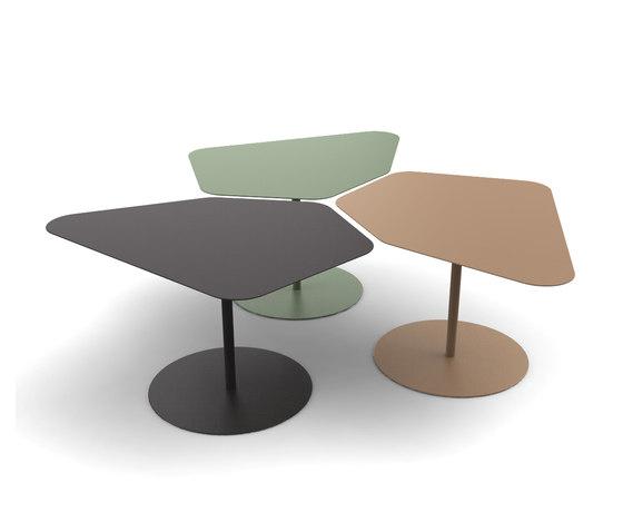 Kona low table de Matière Grise | Mesas de centro