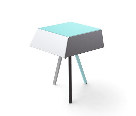 Kuban low table de Matière Grise | Mesas de centro