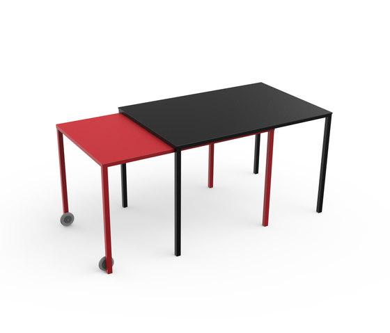 Rafale S table de Matière Grise | Mesas comedor