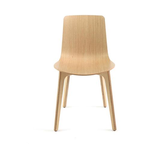 Lottus Wood Chair de ENEA   Sillas