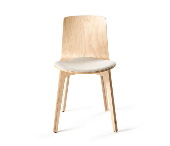 Lottus Wood Chair by ENEA | Visitors chairs / Side chairs
