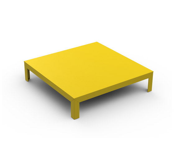 Table basse grise argentee for Table theoleine