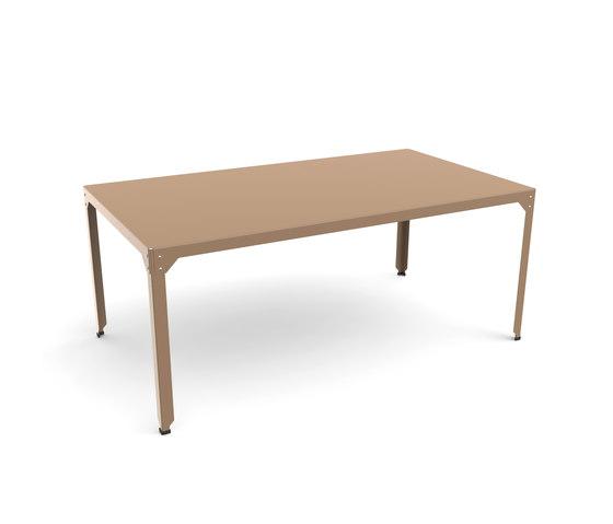 Hegoa table de Matière Grise | Mesas comedor
