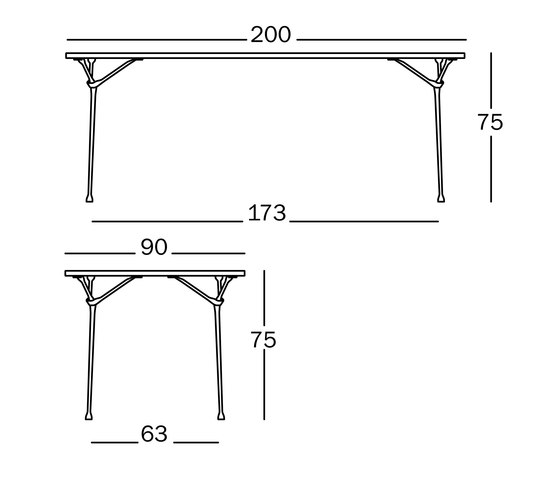 Officina Table by Magis | Dining tables