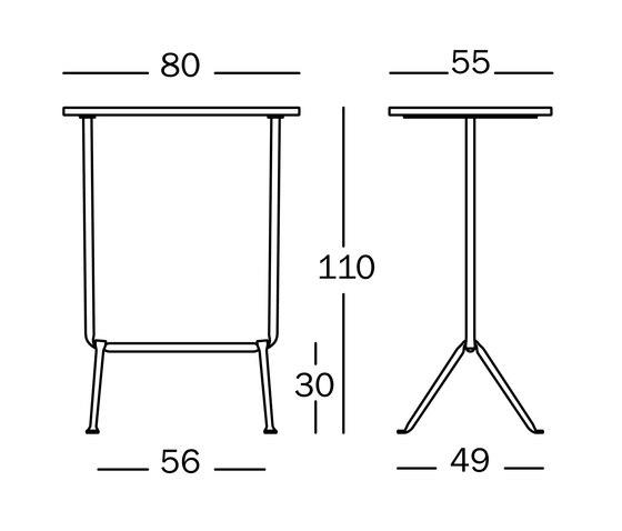 Officina Table | Bistrot de Magis | Mesas para restaurantes