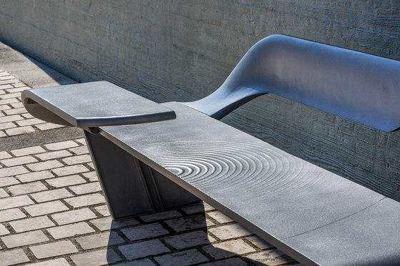 Wave bench by Concept Urbain | Benches
