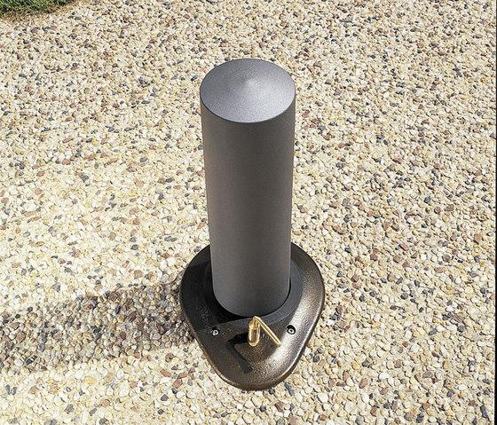 Rhéa D140 rectable bollard by Concept Urbain | Bollards