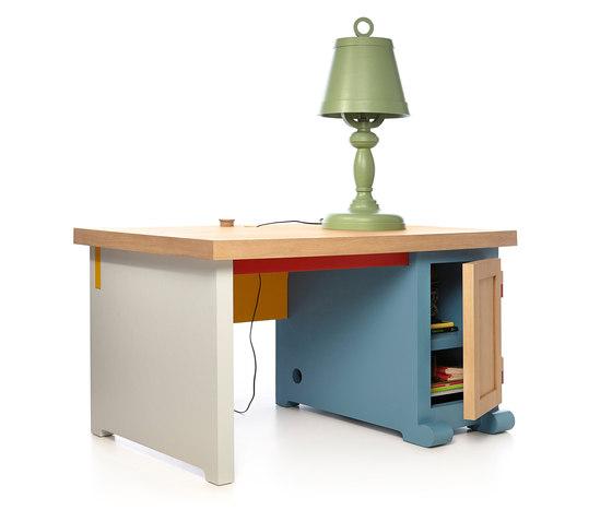 paper desk & patchwork di moooi | Scrivanie