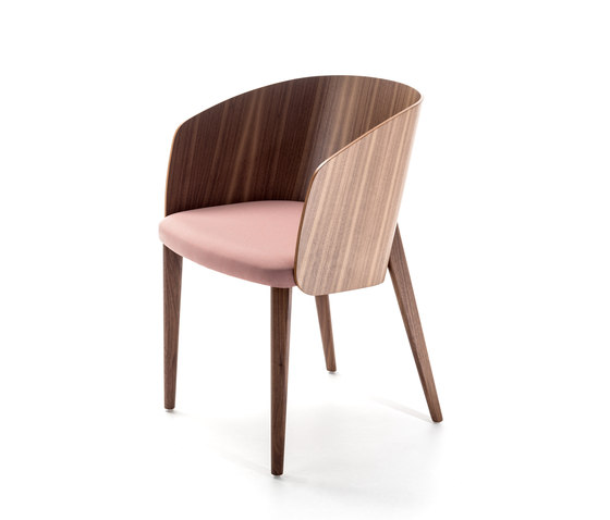 Shell Armlehnstuhl von Bross | Stühle