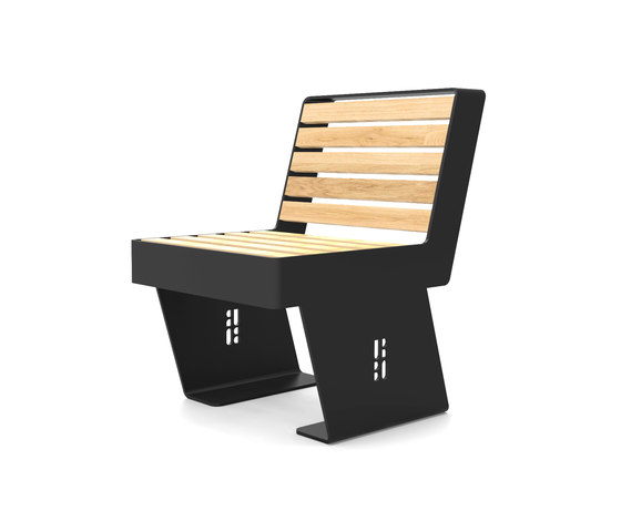Noir seat by Urbo | Exterior chairs
