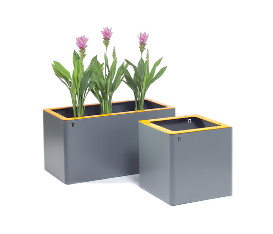Jardinières rectangular de TF URBAN | Macetas plantas / Jardineras