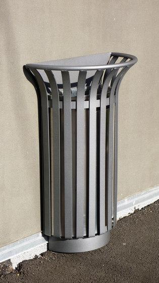 Basic 1/2 litter bin 2 by Concept Urbain | Waste baskets