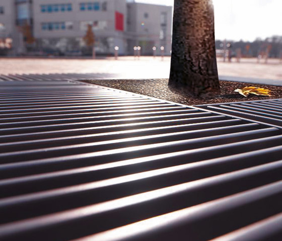 Basic tree grate by Concept Urbain | Tree grates / Tree grilles