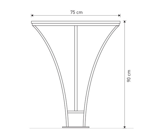 Basic bicycle stand by Concept Urbain   Bicycle stands