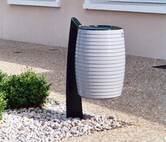 Delta litter bin 60L by Concept Urbain   Waste baskets