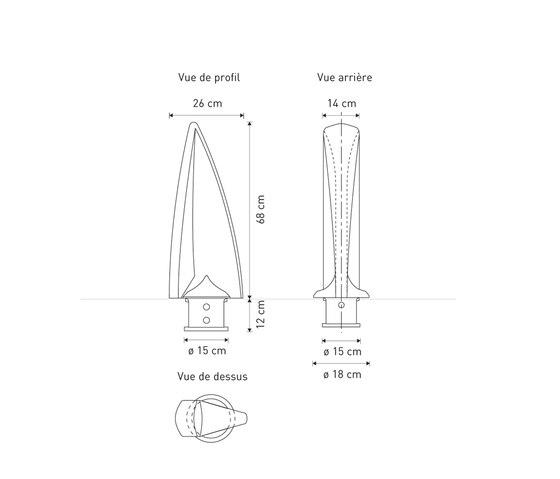 Delta bollard T68 by Concept Urbain | Bollards