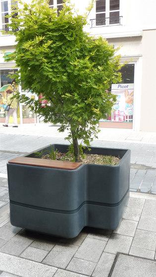 Imawa planter by Concept Urbain | Plant pots