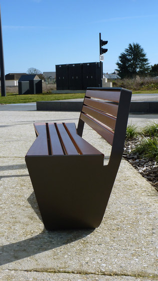 Karma bench by Concept Urbain | Benches