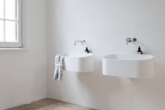 Fuse basin by Not Only White B.V. | Wash basins