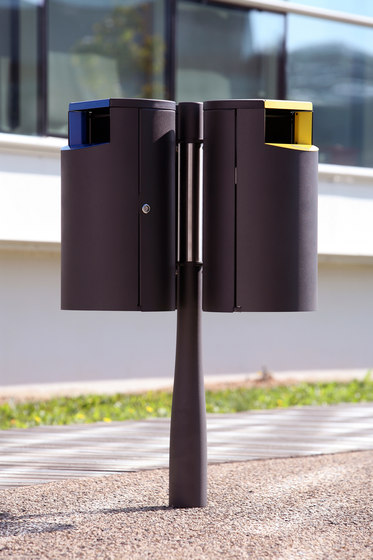 Or'a litter bin sorting by Concept Urbain   Waste baskets