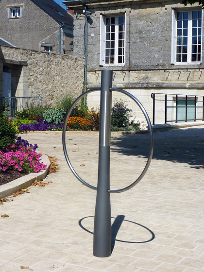 Or'a bicycle stand by Concept Urbain | Bicycle stands