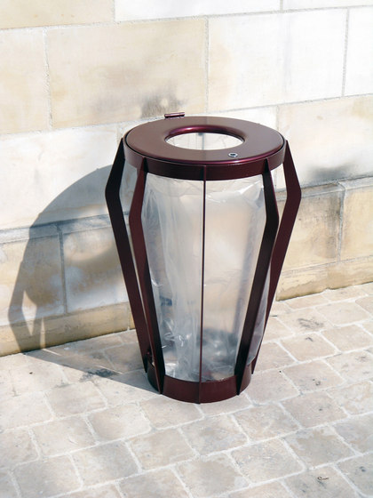 Soha bag holder by Concept Urbain | Waste baskets