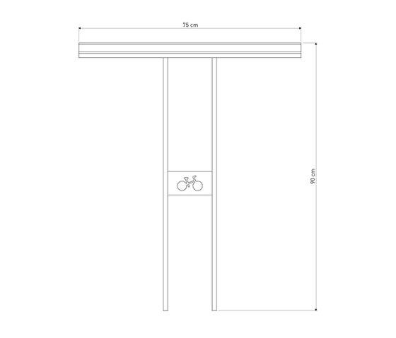 Soha bicycle stand de Concept Urbain | Soportes para bicicletas