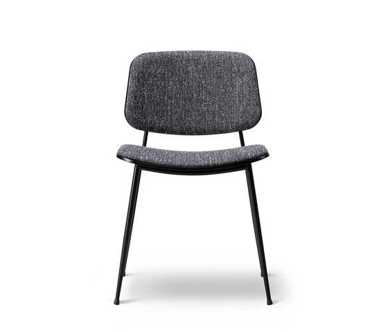 Søborg Steel Base - seat and back upholstered de Fredericia Furniture   Sillas