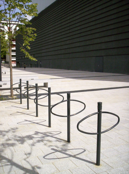Vesta bicycle stand D70 by Concept Urbain | Bicycle stands