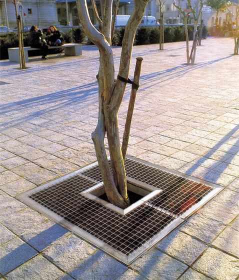 DMD tree grate by Concept Urbain   Tree grates / Tree grilles