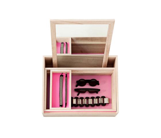 Balsabox Personal pink von nomess copenhagen | Spiegel