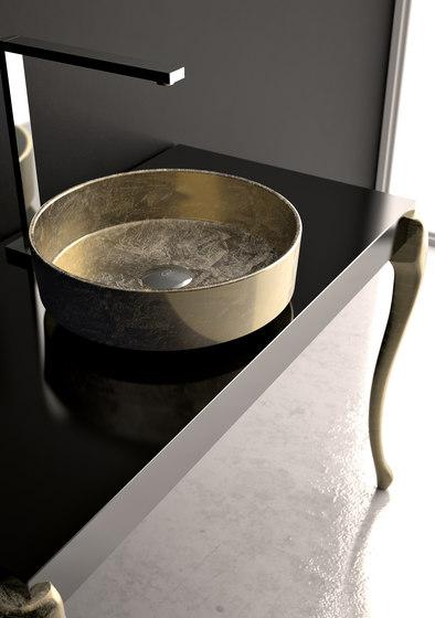Rho Lux by Glass Design | Wash basins