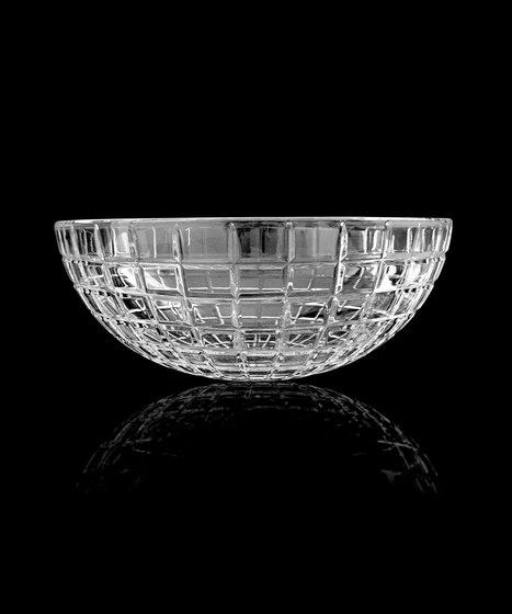 Luxor Round by Glass Design   Wash basins