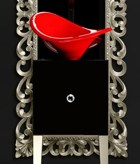Monnalisa Prestige Flower by Glass Design   Vanity units