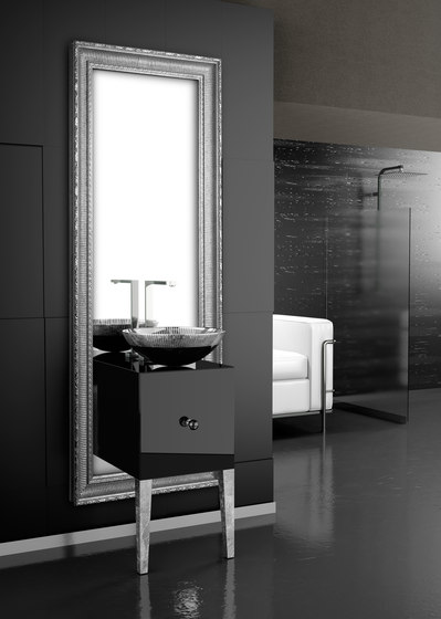 Monnalisa Class Filigrana von Glass Design | Waschtischunterschränke
