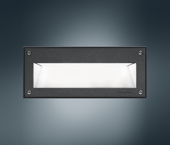 Pareda R Plan LED by Trilux | Recessed wall lights