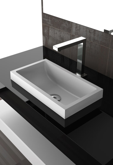 Kosta I by Glass Design   Wash basins