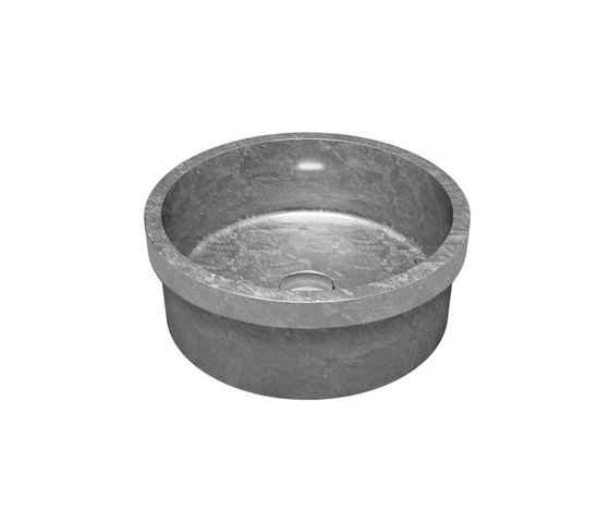 Tondo FL by Glass Design   Wash basins