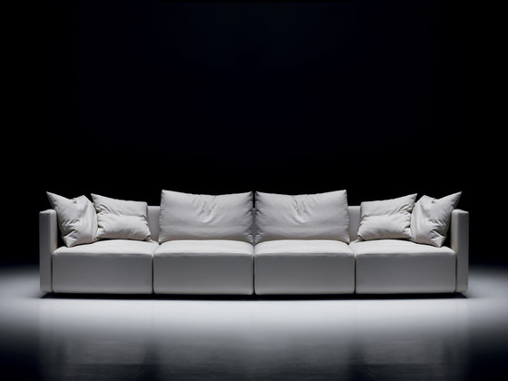 Square  | 4-seater sofa de Mussi Italy | Canapés d'attente