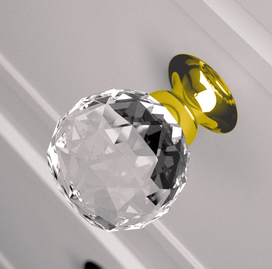 Geo Pull by Glass Design | Cabinet knobs